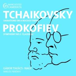 Tchaikovsky: Rococo Variations, Prokofiev: Symphony No. 1