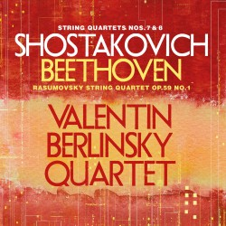 "String Quartets Nos. 7 and 8, String Quartet Op. 59, No. 1, ""Razumovsky"""