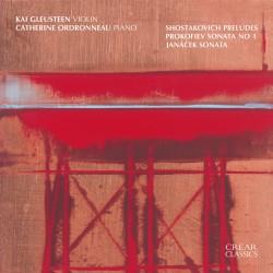 Shostakovich Preludes, Prokofiev Sonata No. 1, Janáček Sonata