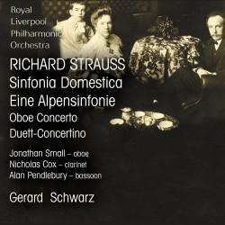 Symphonia Domestica, Oboe Concerto, An Alpine Symphony, Duett-Concertino