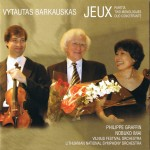 Jeux, Partita, Two Monologues, Duo Concertante