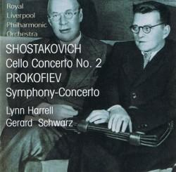 Shostakovich Cello Concerto No. 2, Prokofiev Symphony-Concerto