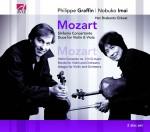 Sinfonia Concertante, Duos for Violin & Viola, Violin Concerto No. 3