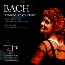 Brandenburg Concertos, Concertos for Harpsichord and Violin