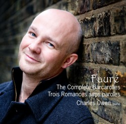 The Complete Barcarolles, Trois Romances sans paroles