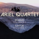 Bartók: String Quartet No. 1; Brahms: String Quartet No. 2