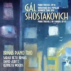 Gál, Shostakovich: Piano Trios