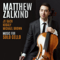 Music for Solo Cello by J. S. Bach, Michael Brown and Kodály